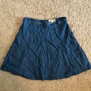 MADEWELL denim skirt *never worn*